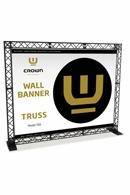 Crown Truss Wall Banner