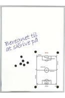 Skrivetavle - magnetisk whiteboard