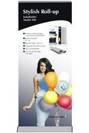 Stylish Roll-up enkeltsidet