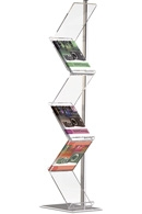 Zig-Zag brochure stativer