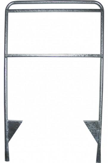Estate Sign mæglerskilt - 105x160cm - sølv