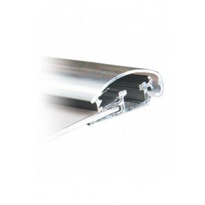 Alu Snapramme Profil - 25mm - 3m Længde - Chrome
