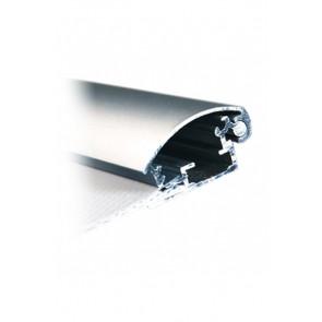 Alu Snapramme Profil - 30mm - 3m Længde - Sølv