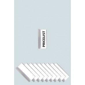 Registersystem Faneblade - 10 Stk. Inkl. Papir