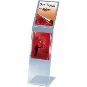 Akryl Info Stand - (A4) - 21x29.7cm - Klar
