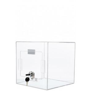 Akryl Forslagskasse - transparent