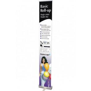 Basic Roll Up Enkeltsidet - 300x220cm Banner - Sølv