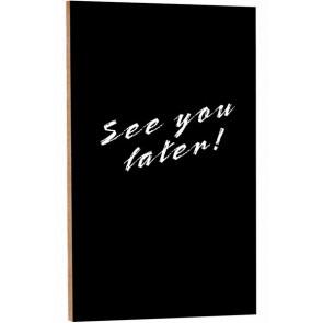 Blackboard til væg - No Frame - 40x90cm