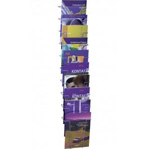 Brochureholder til væg - 10xA4