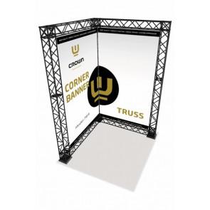 Crown Truss Corner Banner System