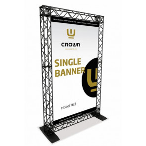 Crown Truss Single Banner System