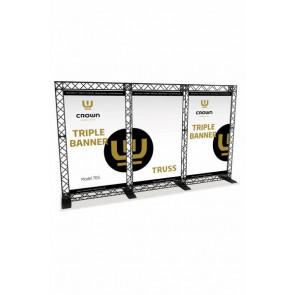 Crown Truss Tripple Banner System
