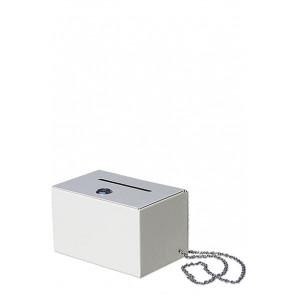 Donation og Drikkepenge Kasse I Hvid