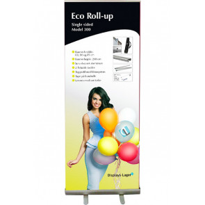 Eco Roll Up 85x220cm - Sølv