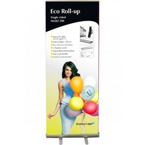 Eco Roll Up - Enkeltsidet - 60x220cm Banner - Sølv