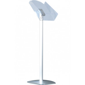 Expo Brochurestand Vertikal - (A4) - 21x29.7cm - Sølv