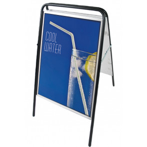 Expo Sign Gadeskilt - (B1) 70x100cm - Sort