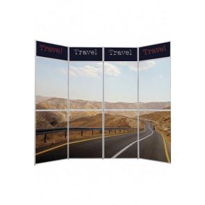 Expo Wall 4 - 3x4 Sektioner - Sølv