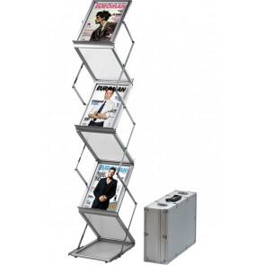 Flex Brochurestander Med Kuffert - 6xA4