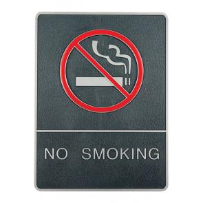 Icon Dørskilt Med Blindeskrift - Rygning Forbudt