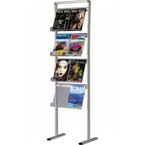 Info-Line Brochurestativ Enkeltsidet - 8xA4