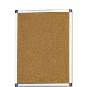 Kork opslagstavle - 90x60cm