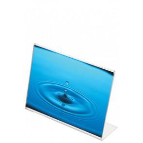 L Menuholder Horisontal - (A9) - 3.7x5.2cm
