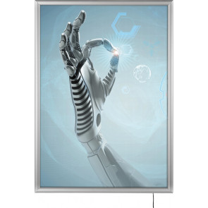 LED Best Buy Plakatramme Enkeltsidet - (A4) - 21x29.7cm
