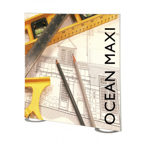 Maxiframe Ocean Wall banner ramme dobbeltsidet - 100x225cm