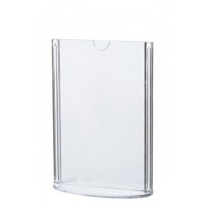 Oval Menukortholder - Vertikal - (A5) - 14.8x21cm