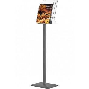 Pillar Brochurestander - 3x A4 Rum - 21x29.7cm