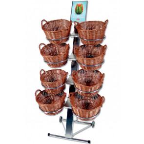 Shop display Med 8 Runde Kurve
