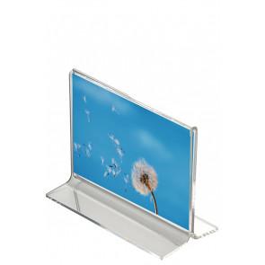 T Menuholder Horisontal - (A7) - 7.4x10.5cm