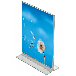 T Menuholder Vertikal - (A6) - 10.5x14.8cm