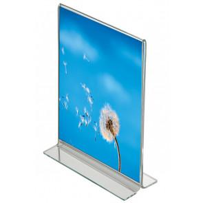 T Menuholder Vertikal - (A7) - 7.4x10.5cm