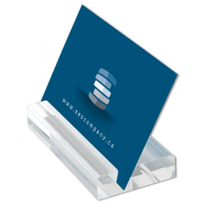 Visitkortholder - Blok - 5.5cm