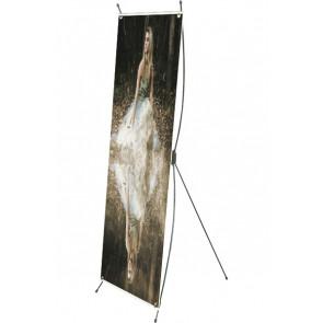 X-Banner - 55x150cm - Sort
