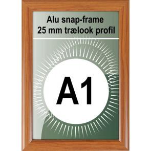 Klikramme - 25mm Profil - (A1) 59.4x84.1cm - Trælook