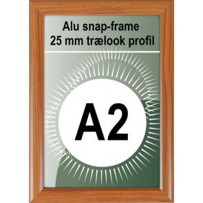 Klikramme - 25mm Profil - (A2) 42x54.9cm - Trælook