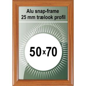 Klikramme - 25mm Profil - (B2) 50x70cm - Trælook