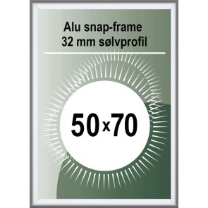 Security Snapramme - 32mm Profil - (B2) 50x70cm - Alu