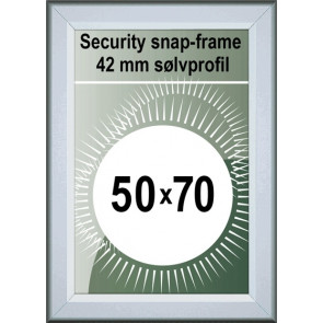Security Snapramme - 42mm Profil - (B2) 50x70cm - Alu