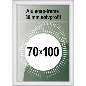 Snapramme - 30mm Profil - (B1) 70x100cm - Alu
