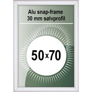 Snapramme - 30mm Profil - (B2) 50x70cm - Alu