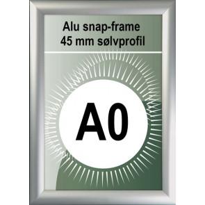 Snapramme - 45mm Profil - (A0) 81.4x118.9cm - Alu