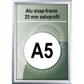 Snapramme - 25mm Profil - (A4) 21x29.7cm - Alu